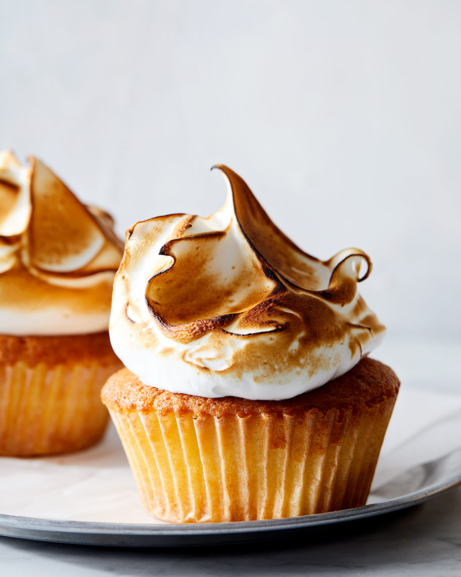 Kristin Teig Photography | Lemon Meringue Cupcake for Pastry Love