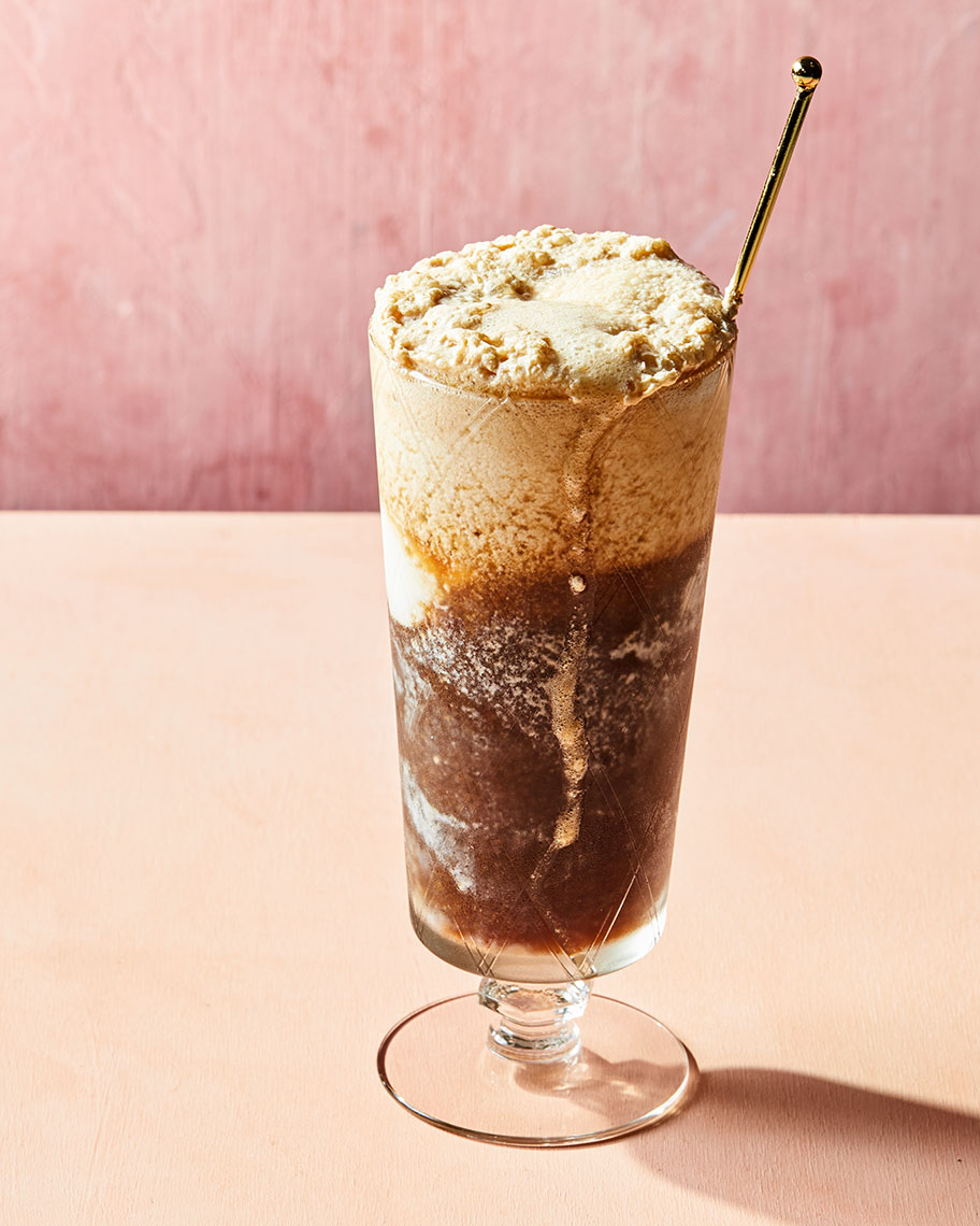 Kristin Teig Photography | Kombucha float for Goop