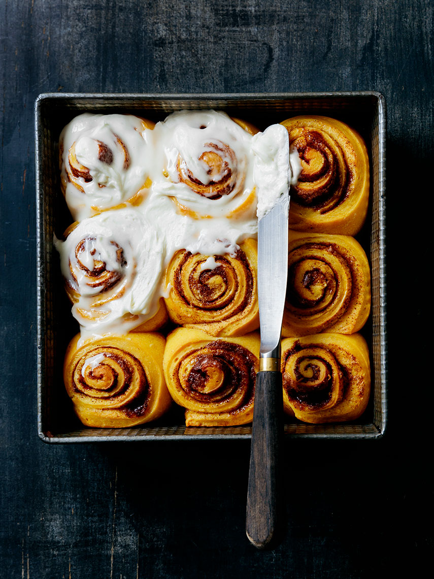 Kristin Teig Photography | Sweet potato cinnamon rolls