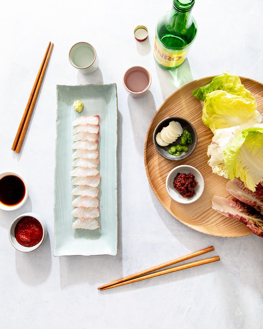Kristin Teig Photography | Sashimi for Hooni Kim