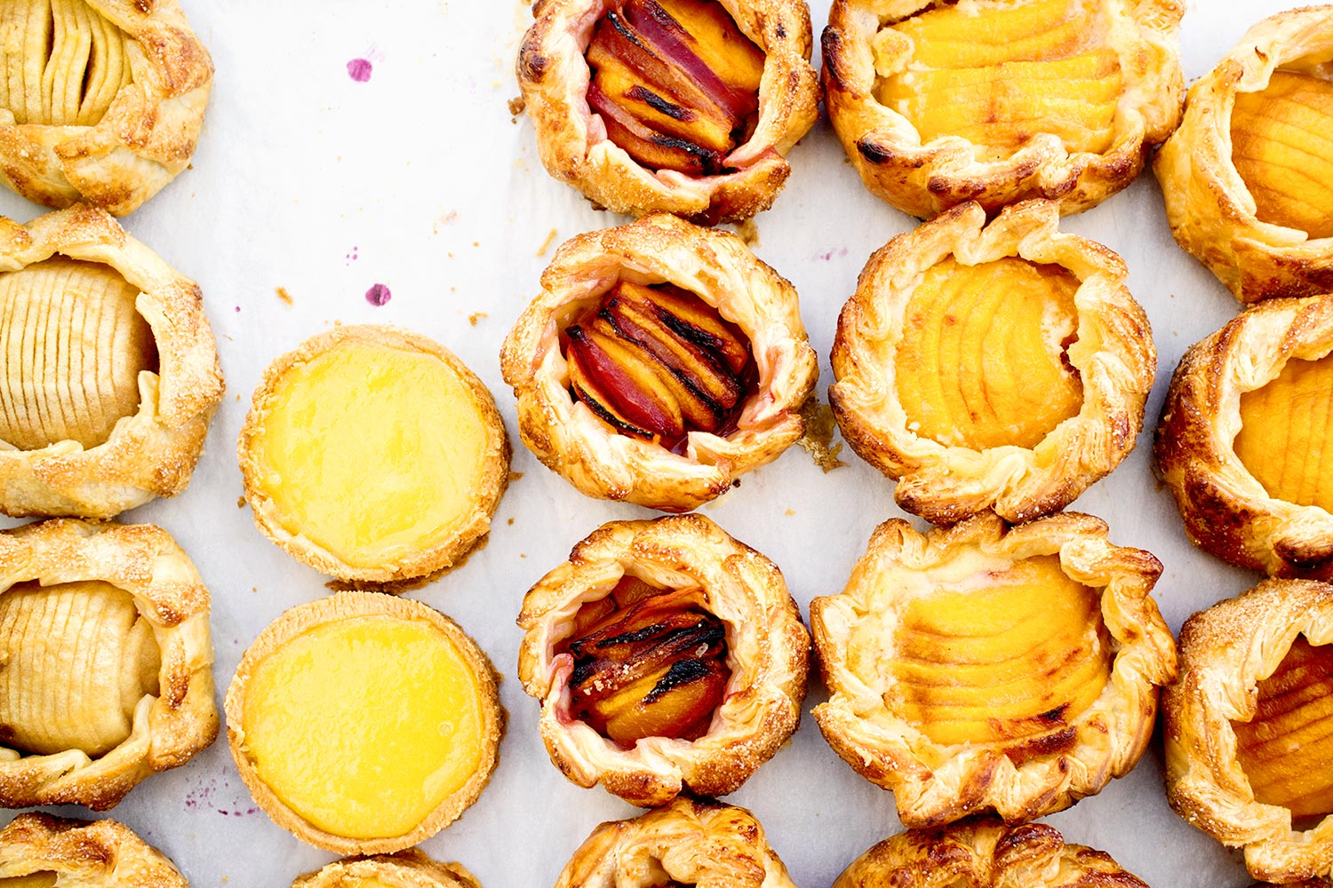 Lemon Tarts - food - Kristin Teig