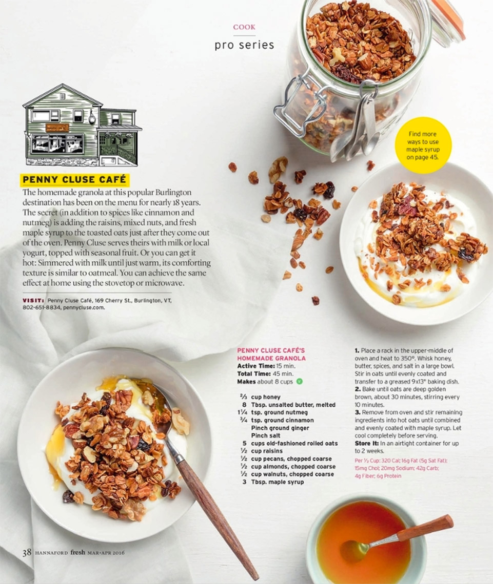 Granola and yogurt - Kristin Teig