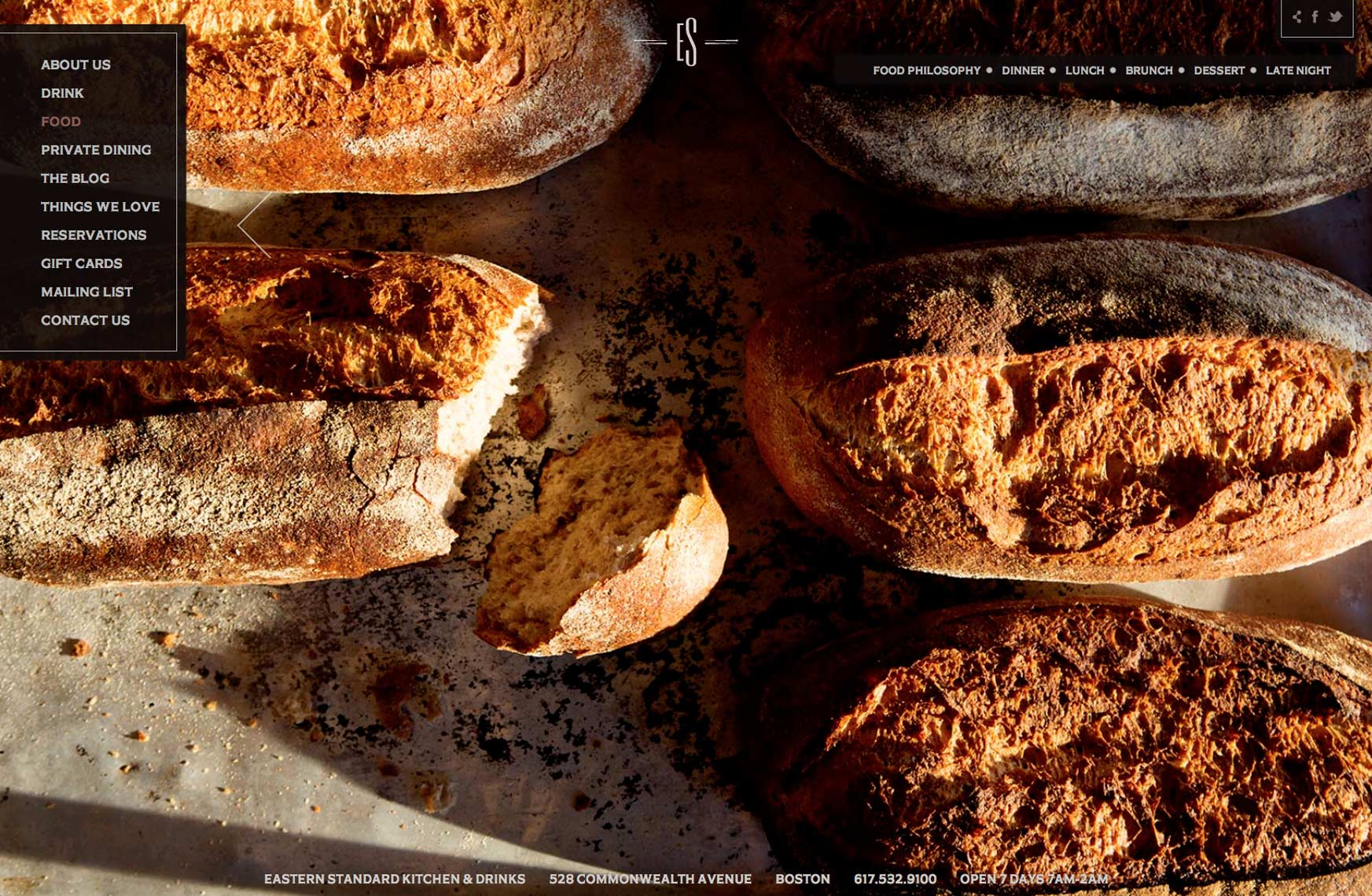 Kristin Teig Photography | Fresh bread at Eastern Standard