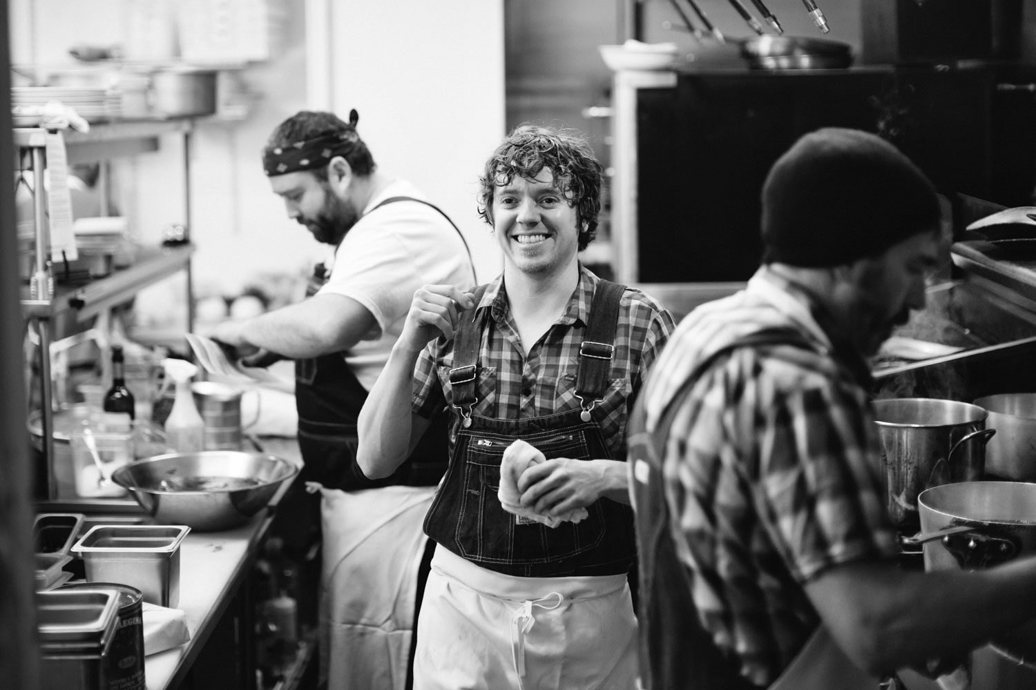 Kristin Teig Photography | Behind the scenes in the kitchen