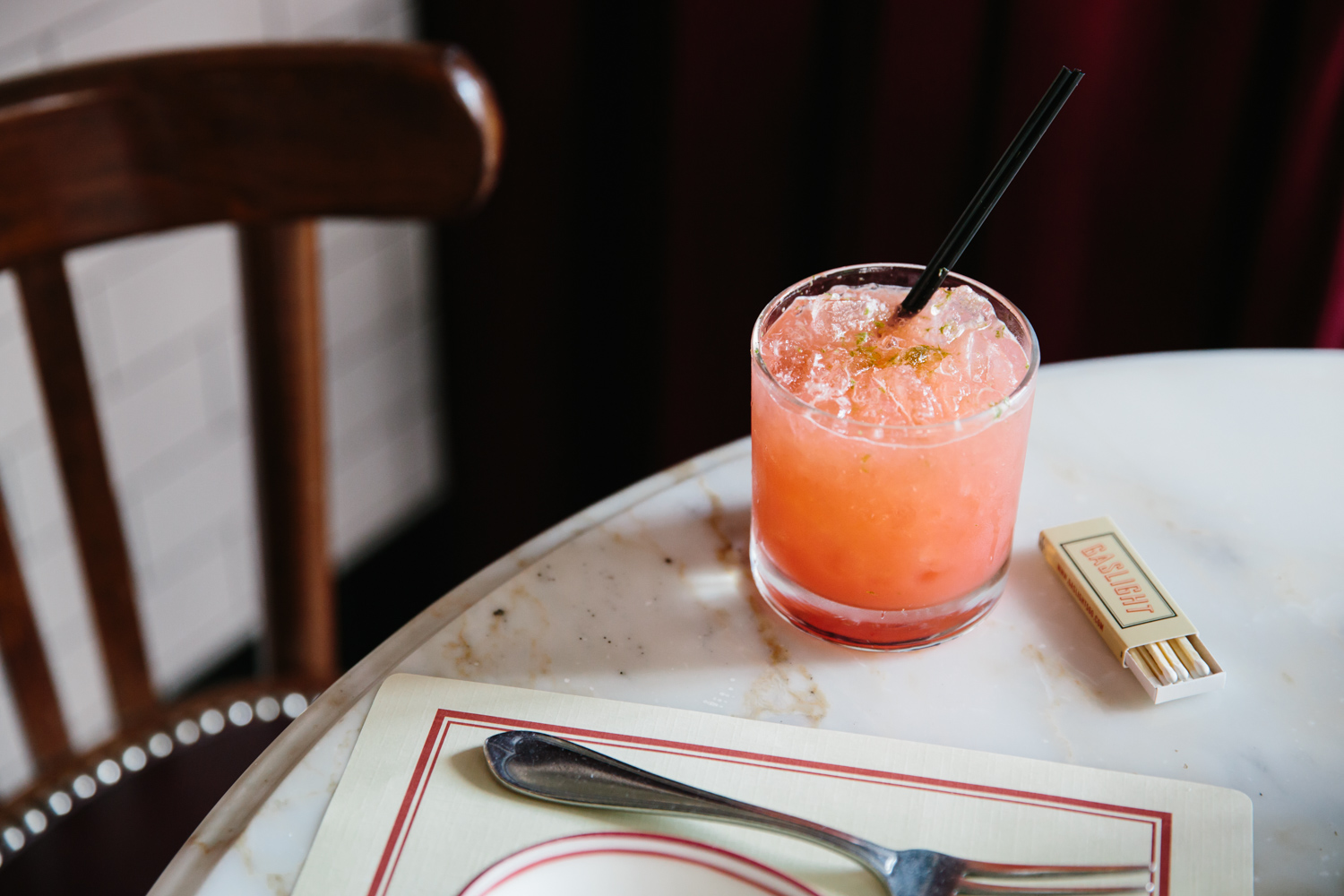 Kristin Teig Photography | Cocktail at Gaslight Boston