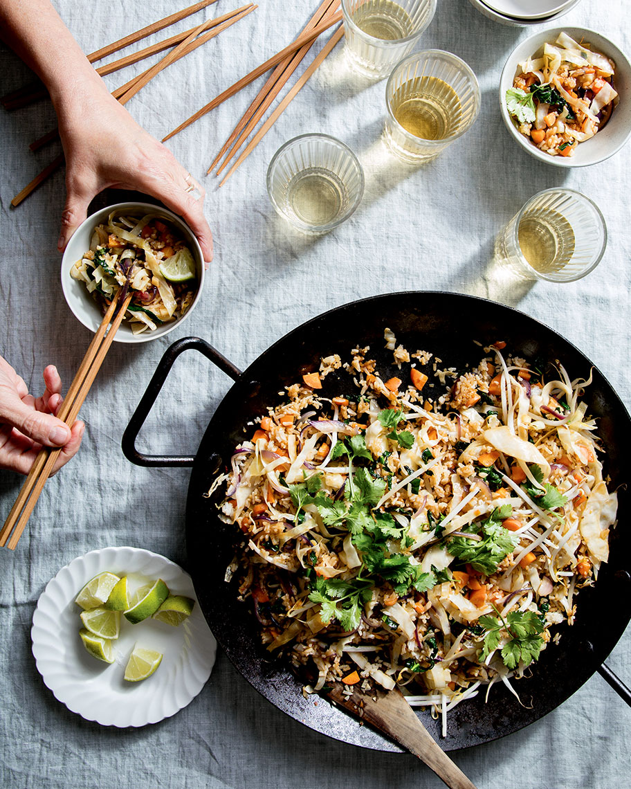 Kristin Teig Photography | Veggie Cabbage Fried Rice for Maggie Battista